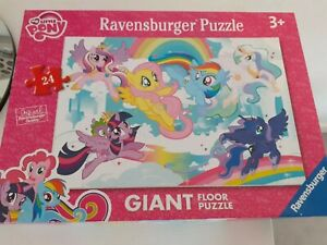 Mylittlepony Ravensburger Giant Puzzle 24 Piece Complete