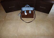 Gucci CRUISE RAMBLE CELLARIUS Leather Layered Tote Handbag Shoulder Bag 370822