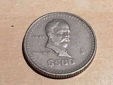 MEXICO 500 PESOS 1987 FRANCISCO MADERA, THICK COIN
