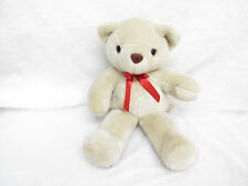 VTG GANZ 1996 CUDDLE BEAR BEIGE TEDDY STUFFED PLUSH TOY