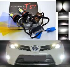 LED Kit G5 80W 9007 HB5 5000K White Headlight Two Bulbs 4 Side Hi/Lo Beam Lamp