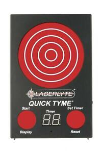 Laserlyte Quick Tyme Laser Trainer Target 16.80 Ounce Black TLB-QDM
