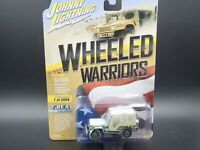 JOHNNY LIGHTNING WWII WILLYS MMB JEEP WHEELED WARRIORS VS B REL 2 #1 1/2004 1:64