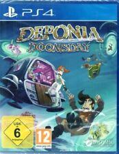Deponia Doomsday-PlayStation ps4-germano-nuevo/en el embalaje original