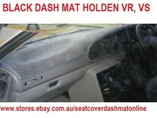 DASH MAT, BLACK DASHMAT, DASHBOARD COVER FIT HOLDEN VR,VS 1993 - 1996, BLACK