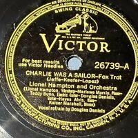 Lionel Hampton: Charlie Was A Sailor / Martin On Every Block: Victor 1940 (Jazz)