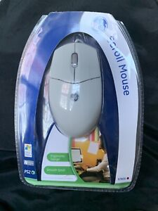 New General Electric GE Scroll PS2 Mouse Ergonomic Design Smooth Scroll