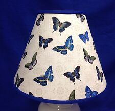 Blue Butterflies Lampshade Butterfly Handmade Lamp Shade
