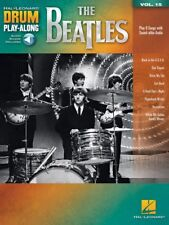 The Beatles Drum Play-Along Book and Audio NEW 000256656