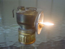 Brass Miner's Carbide Lamp   E