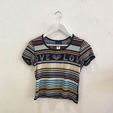 STUNNING Ladies 90's Kenzo Jeans knit style top - sz M (S)  tiger vintage