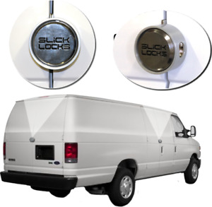 Slick Locks Puck Lock Kit for Ford Econoline Vans (FD-FVK-1-TK) - Hinged Doors