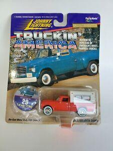 Johnny Lightning Truckin America 60s Studebaker Champ Red 1:64 1 of 17,500