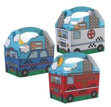 30 EMERGENCY SERVICES TEAM - CHILDRENS BIRTHDAY PARTY MEAL LUNCH FOOD GIFT BOX