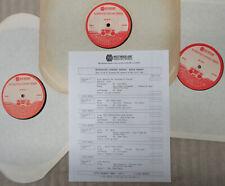 EDDIE MONEY Westwood One Superstar Concert Series 1987 Live RADIO SHOW 3xLP +Cue