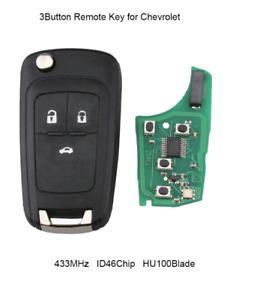 3B Integrated Holden Cruze Remote Flip Key transmitter for Holden cruze