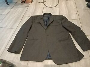 R. G. by Recing Green Mens Suit Grey Jacket Size 44s to fit chest up to 44Rins