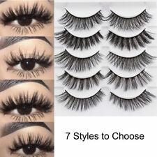 a5231a9cd49 Women Natural 3D Mink Hair False Eyelashes Thick Long Eye Lashes Extension  Cheap