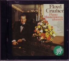 FLOYD CRAMER Piano Masterpieces CD Classic  Great DIZZY FINGERS CANADIAN SUNSET