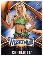 2017 TOPPS WWE Road to Wrestlemania 33 ROSTER #14  CHARLOTTE