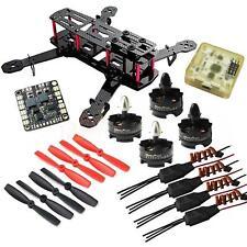 DIY QAV250 ZMR250 Quadcopter T2204 2300KV Motor BLHeli 12A ESC CC3D FC 5045 Prop