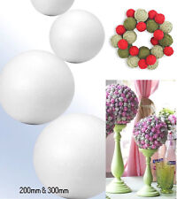 Solid Polystyrene Balls Styrofoam Sphere Hand Craft Sphere  200 - 300mm