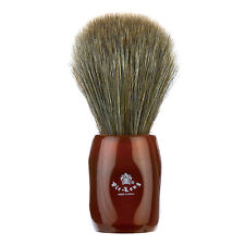 Vie-Long Peleón Horse Hair Shave Brush, Red Handle - New HandMade in Spain 12705
