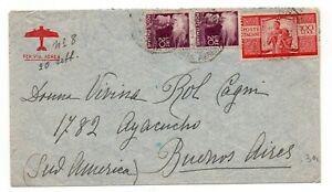 Repubblica Democratica per l' estero 100 Lire + 20+20 Argentina (Buenos Aires)