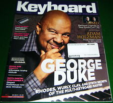 Play Like GEORGE DUKE, Moog Sub Phatty/LIVID ALIAS 8 Rev. 2013 Keyboard Magazine