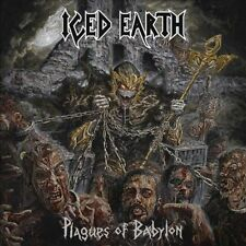 Iced Earth Plagues Of Babylon 2 LP 180G Vinyl Double Record Set 2014 Germany