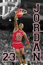 Michael Jordan - Jump POSTER 61x91cm NEW * Chicago Bulls 23 dunking basketball