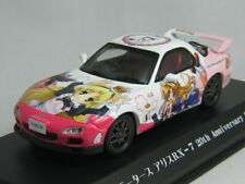 Kyosho Alice Motors RX-7 1:43 Model Car 20th Anniversary Special Itasya w/Track