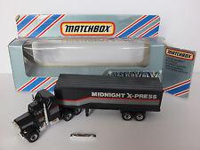 ★ Matchbox CONVOY CY9 ★  MIDNIGHT X-PRESS / US TRUCK