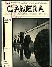 The Camera Magazine March 1940 Cortland Luce Jr. GD 042917nonjhe