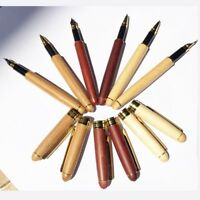 Wooden Fountain Pen Fluent Writing Smooth Business Office Practical Wood Pens