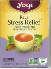 Yogi Stress Relief Eases Tension16 Tea Bags  1 12 oz  32 g