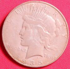 1935 PEACE DOLLAR, US $1 90% Silver Dollar,  SanFrancisco mint