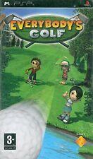 Everybody's Golf Sony PSP 3+ Game