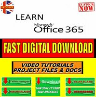 LEARN MICROSOFT OFFICE 365, DETAILED PRO VIDEO SKILLS TRAINING SYSTEM DOWNLOAD