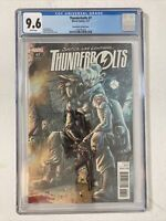 THUNDERBOLTS #7 2017 CHECCHETTO 1:25 CGC 9.6 WINTER SOLDIER VARIANT RARE