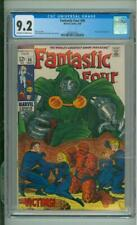 Fantastic Four #86 CGC 9.2 Doctor Doom App 1969