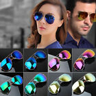 Unisex Vintage Retro Women Men Glasses Fashion Mirror Lens Sunglasses LN