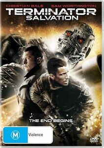 Terminator Salvation DVD Region 4 - Sam Worthington, Christian Bale