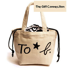 Magazine Bag - Agnes B Tote with Extended Pouch White