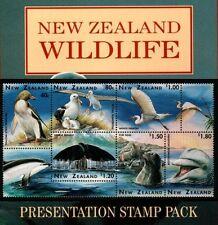 New Zealand 1996 N.Z.Wildlife ~ S/Pack Mint