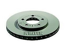 SKODA OCTAVIA 1U 2x Brake Discs (Pair) Vented Front 96 to 10 256mm Set Juratek