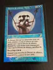 MTG MAGIC FLEAU/SCOURGE DECREE OF SILENCE (VF DECRET DE SILENCE) NM FOIL