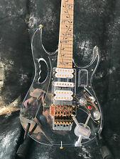 Crystal guitar  Starshine SR-MJEM-7VY  led light electric guitar multicolour