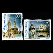 Hungary 2010 - 83rd Day of Stamps Architecture Religion - Sc 4153/4 MNH