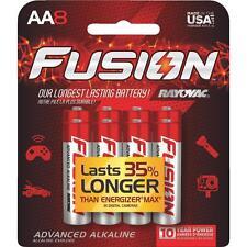 RAY O VAC 8Pk Aa Fusion Battery